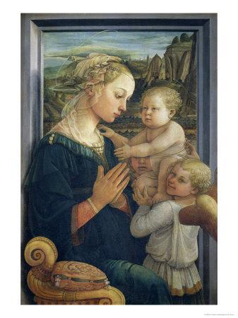 Madonna and Child with Angels, c.1455