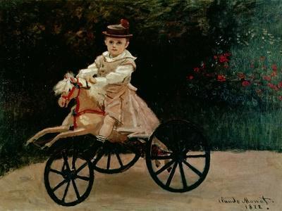 Jean Monet on His Hobby Horse, 1872