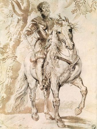 Study For an Equestrian Portrait of the Duke of Lerma