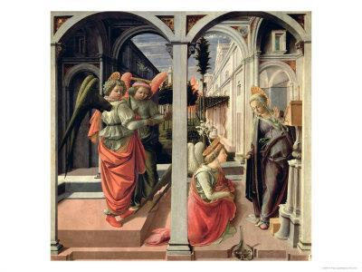 The Annunciation with Three Angels, 1440