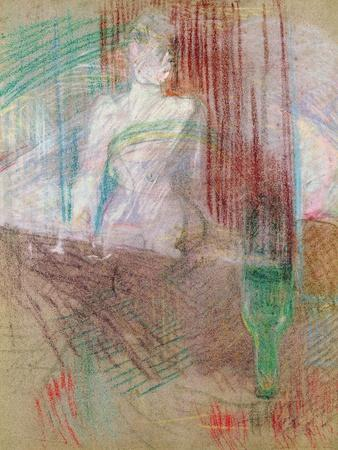 Woman Standing Behind a Table, from Elles, 1889