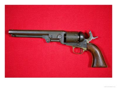 The .36 Calibre Colt Revolver Model Once Owned by Outlaw Jesse James