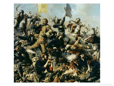Battle of Little Bighorn, 25th June 1876