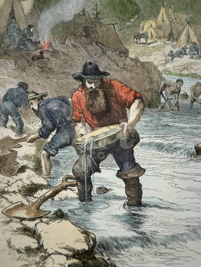 prospectors Californian gold rush