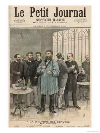 The Chamber of Deputies: The Refreshment Room, from Le Petit Journal, 5th November 1892