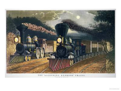 The Lightning Express Trains, 1864