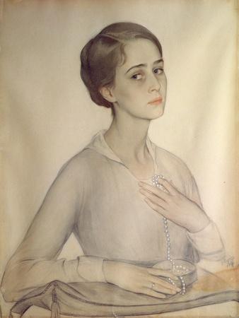 Portrait of Olga Spesivtseva, 1917