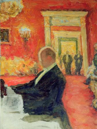 Portrait of Sergei Prokofiev at Work, 1937