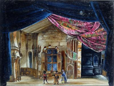 Stage Design For Act II of La Juive, First Performed at the Paris Opera on 23rd February 1835