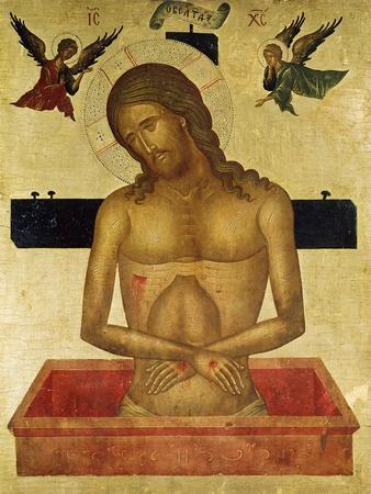 Icon Depicting Christ in the Tomb