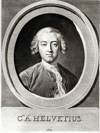 Portrait of Claude Adrien Helvetius
