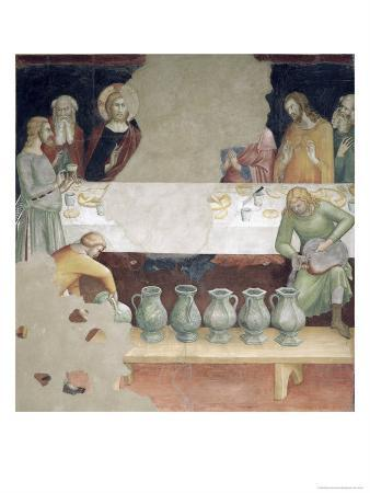The Marriage at Cana, from a Series of Scenes of the New Testament