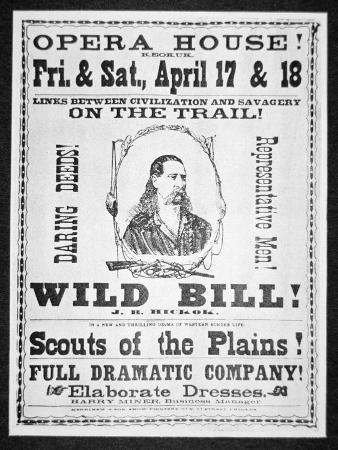 Poster Advertising the Scouts of the Plains, c.1873