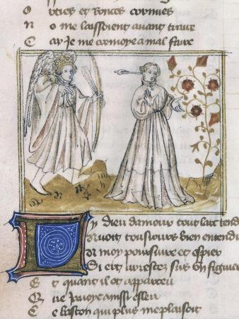 Illustration from Le Roman de La Rose