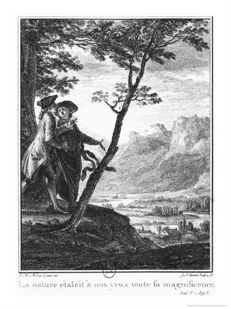 Profession of Faith of the Savoyard Vicar, Illustration from L'Emile by Jean-Jacques Rousseau