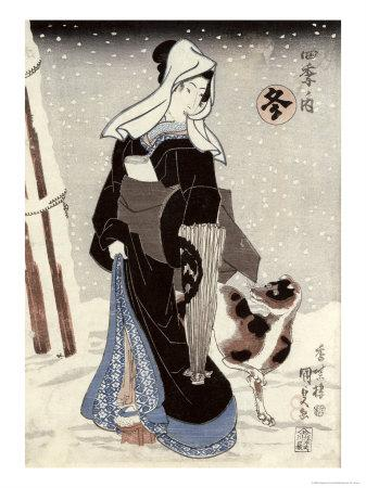 Winter, from the Series Shiki No Uchi