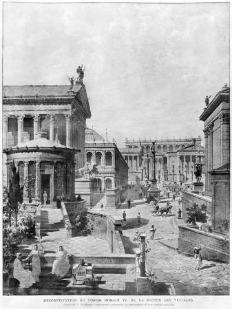 The Roman Forum of Antiquity, 1914