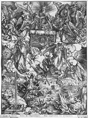Apocalypse, the Opening of the Seventh Seal, the Seven Angels, Latin Edition, 1511