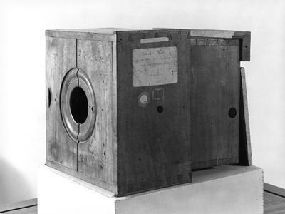 Camera of Joseph Nicephore Niepce, c.1816-22