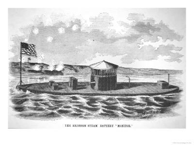 The Steam-Powered Ironclad USS Monitor, Designed by John Ericsson