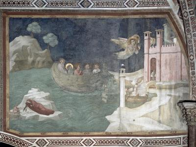 The Miraculous Arrival of Lazarus and His Sisters in Marseilles, 1320
