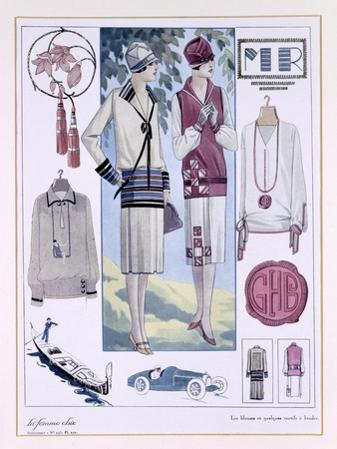 Fashion Plate, from La Femme Chic