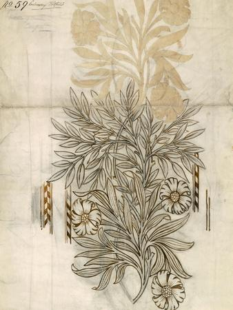 Floral Textile Design For Morris and Co