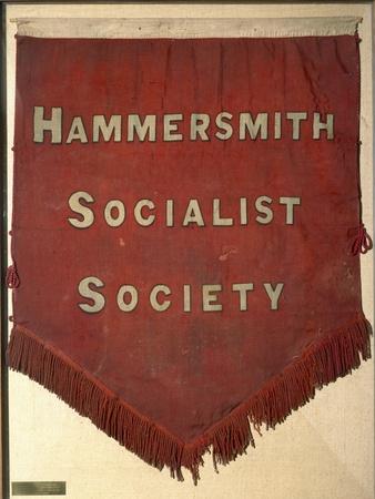 Banner of the Hammersmith Socialist Society