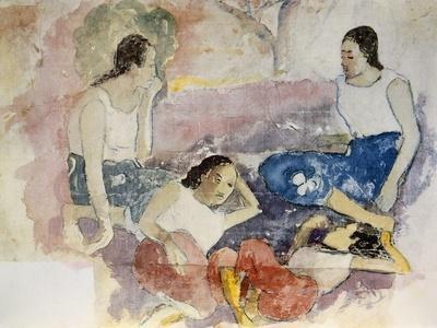 Tahitian Women, from Noa Noa, Voyage a Tahiti, Published 1926