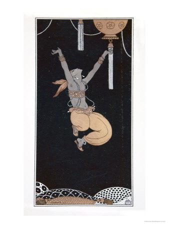 Scheherazade, from the Series Designs on the Dances of Vaslav Nijinsky