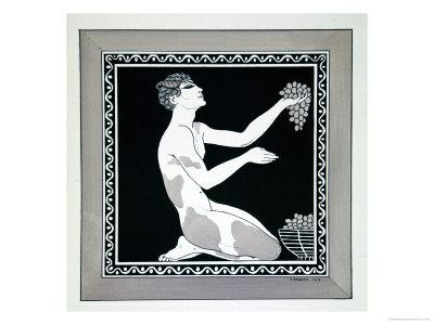 L'Apres-Midi D'Un Faune from the Series Designs on the Dances of Vaslav Nijinsky