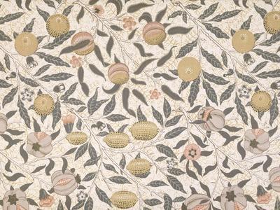 Pomegranate, Design For Wallpaper, Morris William