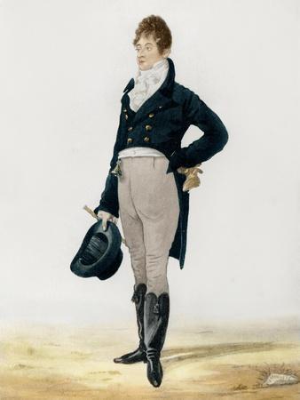 Portrait of George Beau Brummell