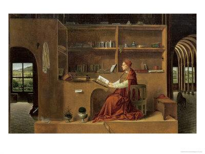 St. Jerome in His Study, c.1475