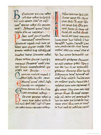 Fragment from a Cathar Manuscript