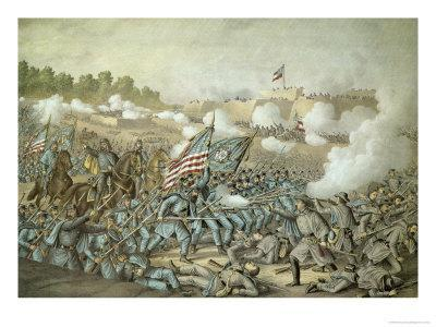 Battle of Williamsburg, 5th May 1862 by Kurz and Allison