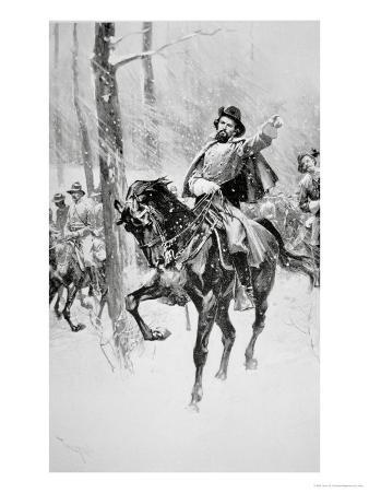 Portrait of General Nathan Bedford Forrest