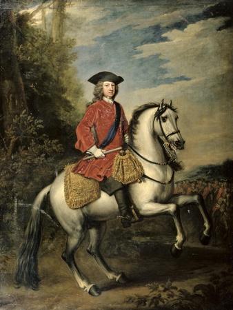Portrait of King George I, 1717