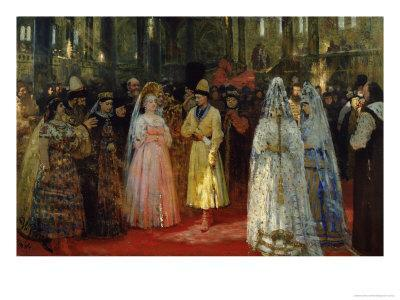 The Tsar Choosing a Bride, c.1886