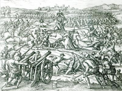 The Battle of Cajamarca, 1532