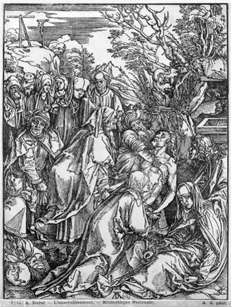 The Entombment of Christ, from 'The Great Passion' Series, 1497-1500