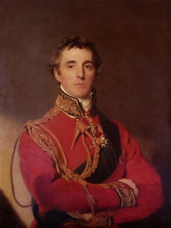 Portrait of Arthur Wellesley