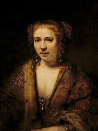 Portrait of Hendrikje Stoffels