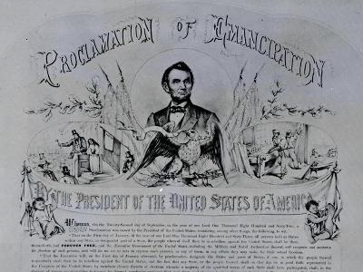 Proclamation of Emancipation by Abraham Lincoln, 22nd September 1862