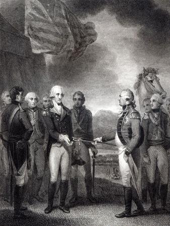 Surrender of Lord Cornwallis at Yorktown, 1781