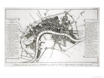 London Fortifications in 1642 and 1643, 1738