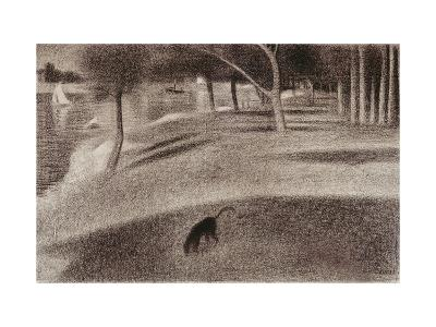 Study For Sunday Afternoon on the Island of La Grande Jatte, c.1884