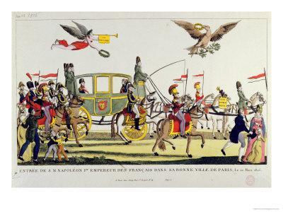 The Entry of Napoleon Into Paris on 20th March 1815