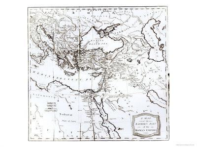 Map of the Eastern Part of the Roman Empire, c.1808
