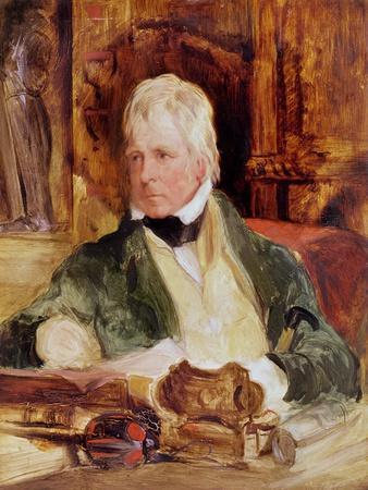 Portrait of Sir Walter Scott, c.1824